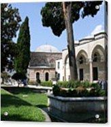 Courtyard Topkapi Palace - Istanbul Acrylic Print