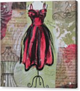 Couture I Acrylic Print