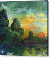 Cove Contento Acrylic Print