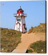 Covehead Harbour Lighthouse 5701 Acrylic Print