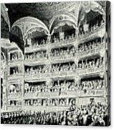Covent Garden Theatre, 1795 Acrylic Print