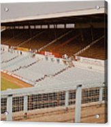 Coventry City - Highfield Road - North Side Thackhall Street Stand 2 - September 1969 Acrylic Print