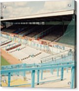 Coventry City - Highfield Road - North Side Thackhall Street Stand 3 - August 1991 Acrylic Print