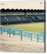 Coventry City - Highfield Road - South Side Main Stand 2 - August 1991 Acrylic Print