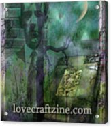 Cover Page Acrylic Print