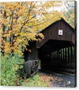 Covered Bridge Number 22 Acrylic Print