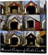 Covered Bridges Of Bucks County Acrylic Print