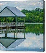 Covered Dock Acrylic Print