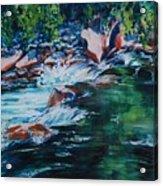 Covington Falls Acrylic Print