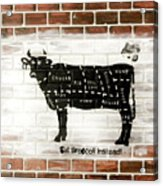 Cow Cuts Acrylic Print
