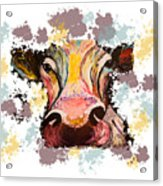 Cow Splotch Acrylic Print