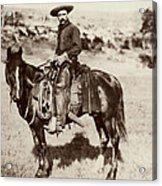 Cowboy, 1887 Acrylic Print