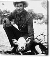 Cowboy, 20th Century Acrylic Print
