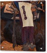 Cowboy Chinks Acrylic Print