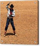 Cowboy Entertainer Acrylic Print