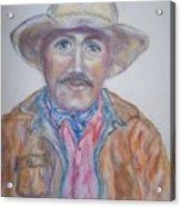 Cowboy Jim Acrylic Print