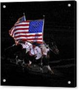 Cowboy Patriots Acrylic Print