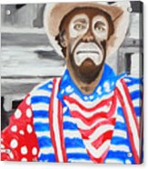 Cowboy Savior Acrylic Print