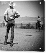 Cowboy Stance Acrylic Print