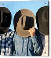 Cowboys Anonymous Acrylic Print