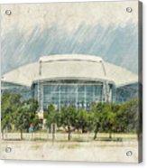 Cowboys Stadium Acrylic Print