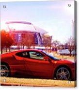 Cowboys Stadium V2 Acrylic Print