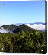 Cowee Overlook At Black Rock Mountain State Park Acrylic Print