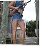 Cowgirl 019 Acrylic Print