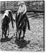 Cowgirl Acrylic Print