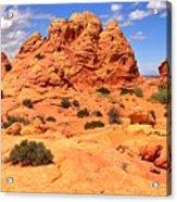Coyote Buttes Pastel Landscape Acrylic Print