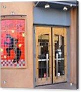 Coyote Cafe Santa Fe Acrylic Print