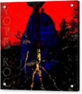 Coyote Rock Acrylic Print