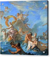 Coypel's The Abduction Of Europa Acrylic Print