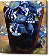 Crab Affect Acrylic Print