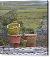 Crab Pots And Baskets Acrylic Print