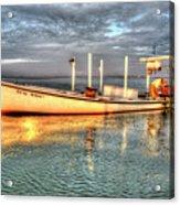 Crabbing Boat Beth Amy - Smith Island, Maryland Acrylic Print