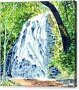 Crabtree Falls - Phantom Of The Blue Ridge Acrylic Print