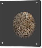 Cracked Sphere. Acrylic Print by Alexandr  Malyshev