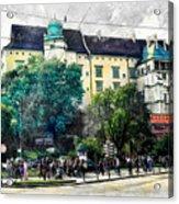 Cracow Art 2 Wawel Acrylic Print