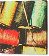 Craft Grunge Acrylic Print