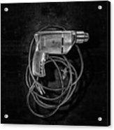 Craftsman Drill Motor Bs Bw Acrylic Print