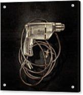 Craftsman Drill Motor Bs On Black Acrylic Print