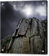 Crags Acrylic Print