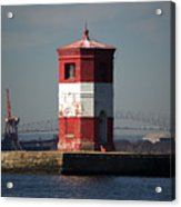 Craighill Channel Upper Range Front Light Acrylic Print
