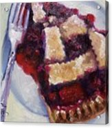 Cranberry Raisen Pie         Acrylic Print