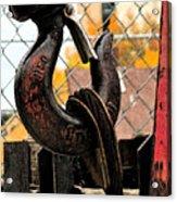 Crane Hook Acrylic Print