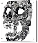 Craneo Acrylic Print