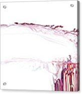 Cranial Splatter Acrylic Print