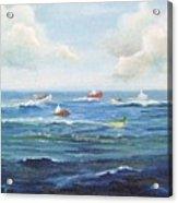 Crashboat Beach Acrylic Print
