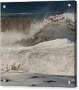 Crashing - Jersey Shore Acrylic Print